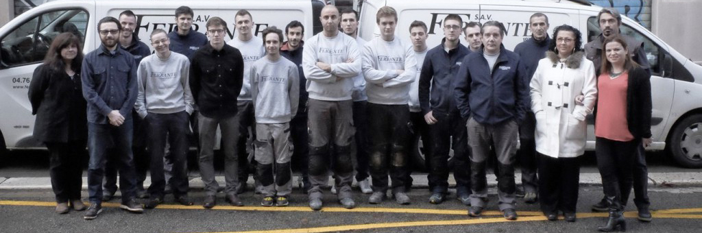 Photo de groupe - Recrutement