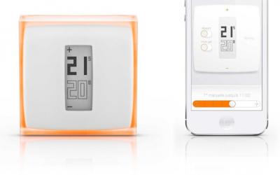 Remise immédiate de 120 euros TTC sur le thermostat d'ambiance connecté NETATMO